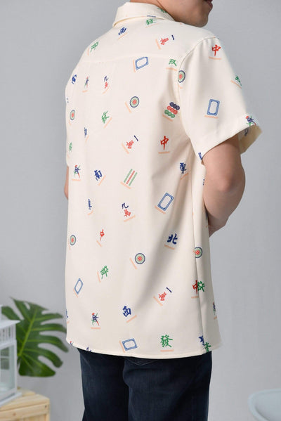 AWE Tops *RESTOCKED* MAHJONG SHIRT IN CREAM