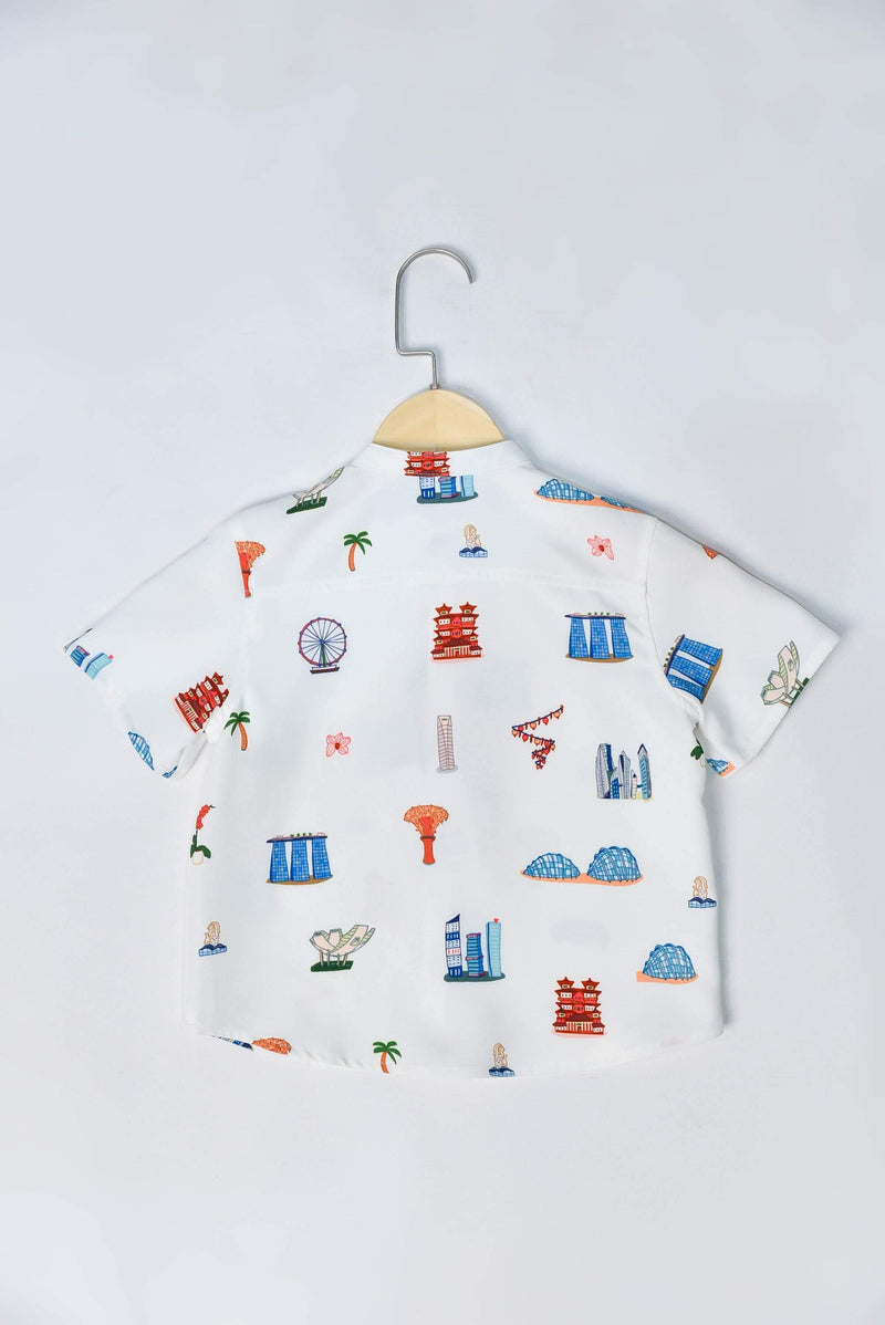 AWE Tops THIS IS HOME KIDS' SHIRT