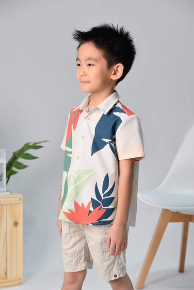 AWE Tops TROPICAL KIDS SHIRT IN MALDIVES