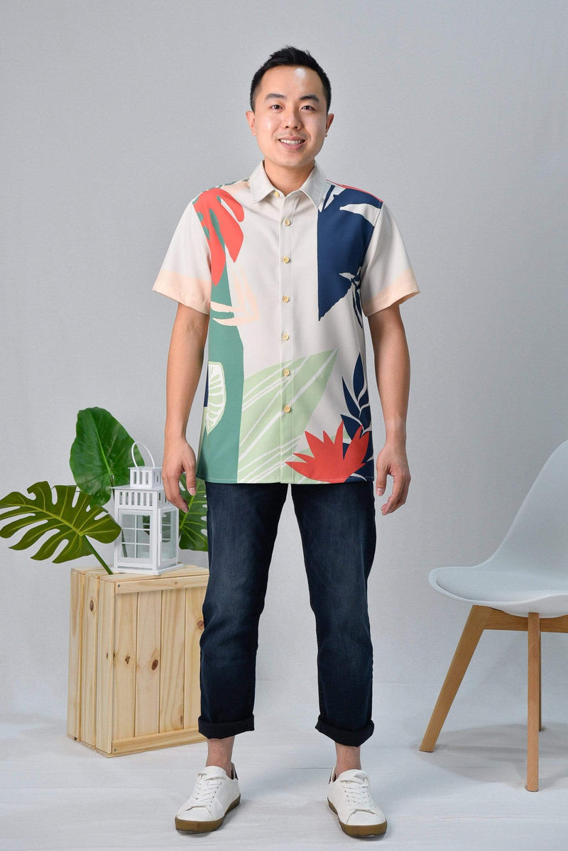 AWE Tops TROPICAL SHIRT IN MALDIVES
