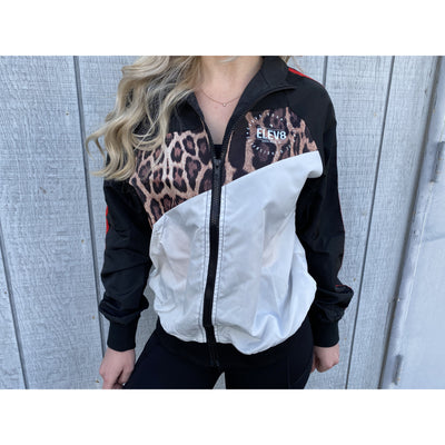 Leopard Zip-up