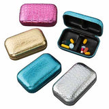 Metallic Pill Box