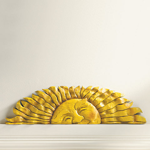 Peeking Sun Door Topper