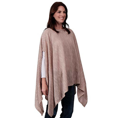 Le Moda Ladies Poncho with ethereal sleeves - One size