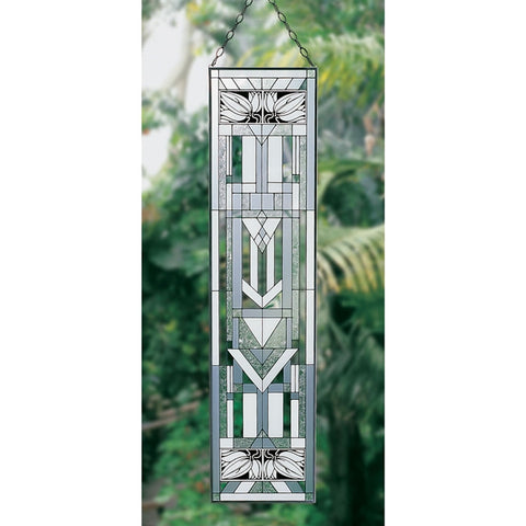 Arts & Crafts Sidelight Glass Suncatcher