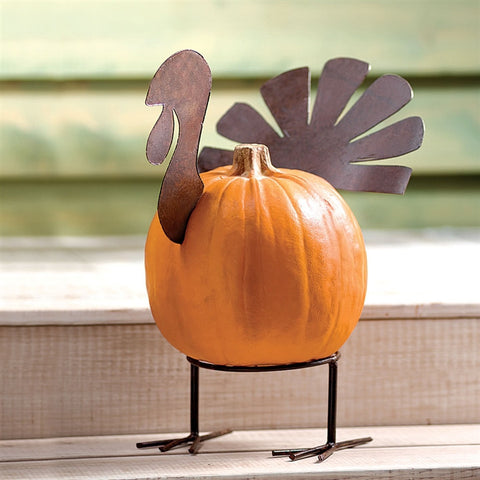 Thanksgiving Turkey Pumpkin Kit (NB)