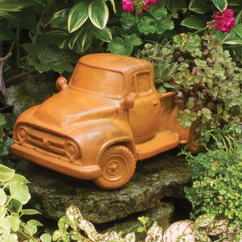 Terracotta Vintage Farm Truck Planter