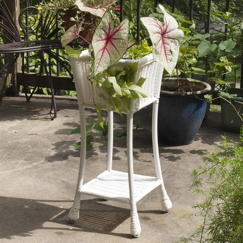 All-Weather 'Wicker' Plant Stand