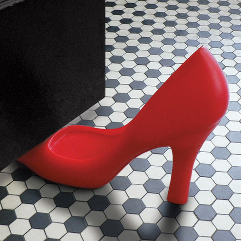 High-Heel 'Foot In The Door' Door Stop