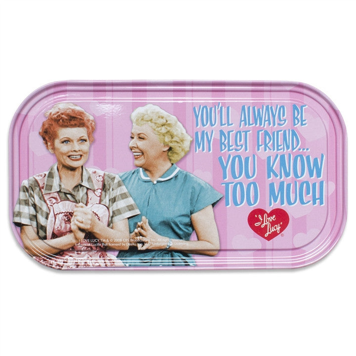 I Love Lucy 'Friends Forever' Magnetic Tin Sign