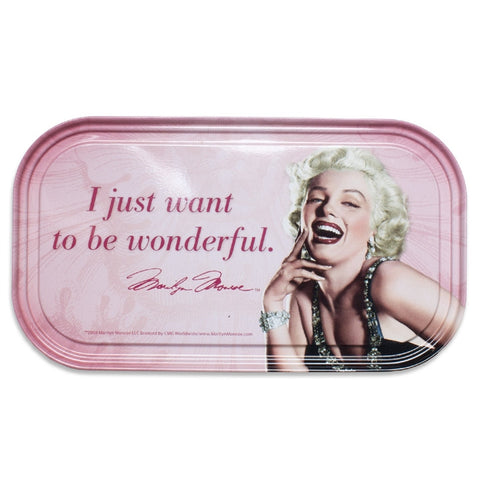 Marilyn Monroe 'Wonderful' Magnetic Tin Sign