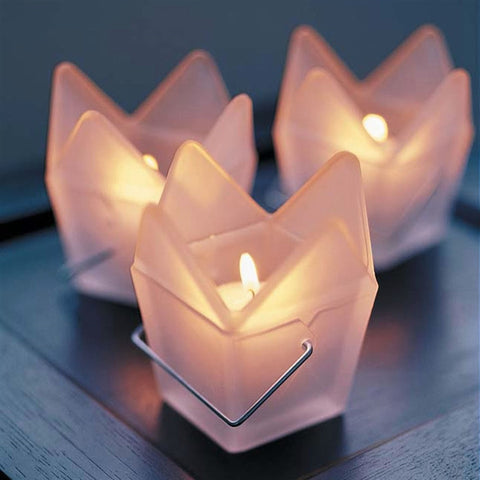 Chinese Take-Out Box Candle Holder