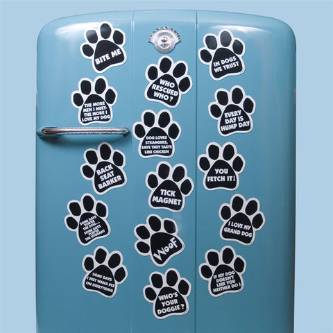Magnetic Pedigrees Paw Magnets (NB)