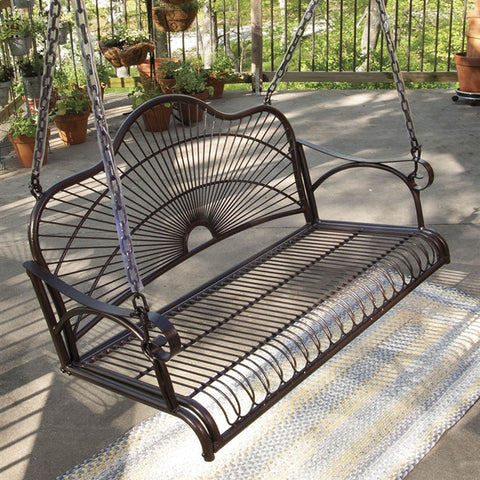 Sun Ray Porch Swing