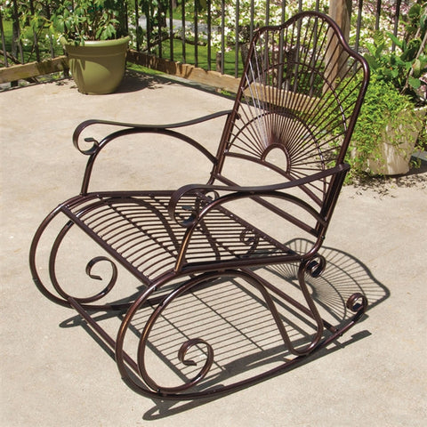 Sun Ray Patio Rocker