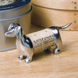 Dachshund Pewter Pet Cork Keeper