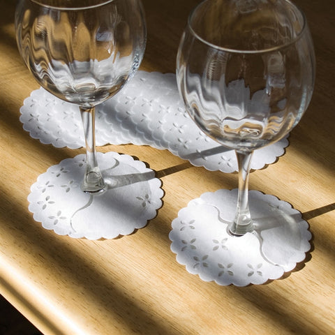 Wine Glass Stem Wrap Coasters