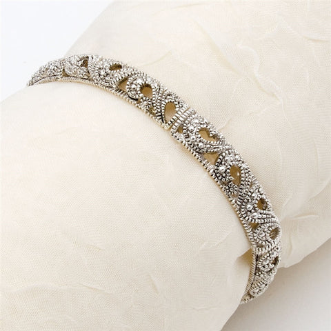 Edwardian Filigree Stretch Bracelet