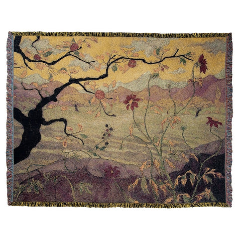 Apple Tree With Red Fruit Throw (HH)