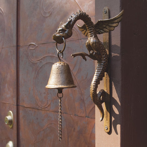 Iron Dragon Wall-Mounted Bell (NB)
