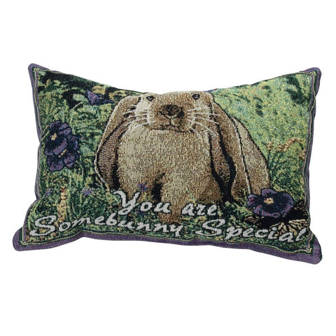 You Are Somebunny Special Tapestry Pillow