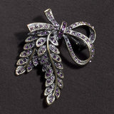 Crystal Garland Brooch (NB)
