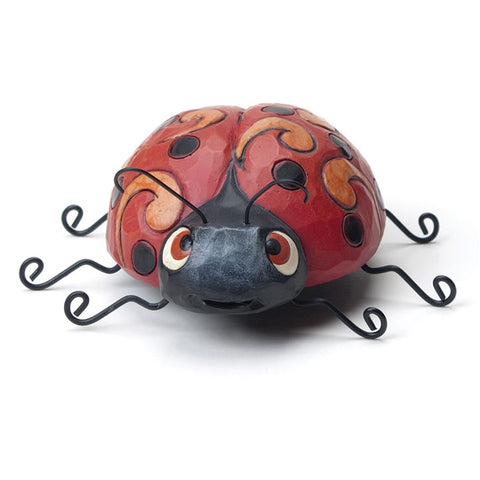 Jim Shore Ladybug Mini Figurine