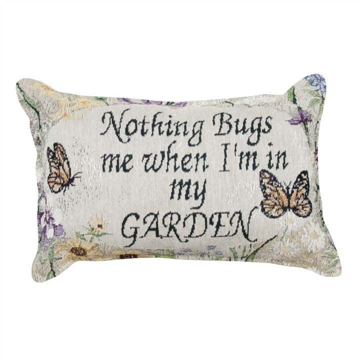 Nothing Bugs Me Pillow
