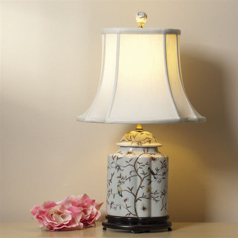 Scalloped Tea Jar Lamp (NB)