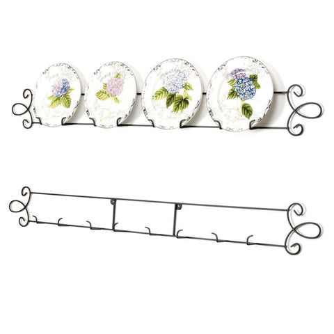 Horizontal Wall Plate Rack