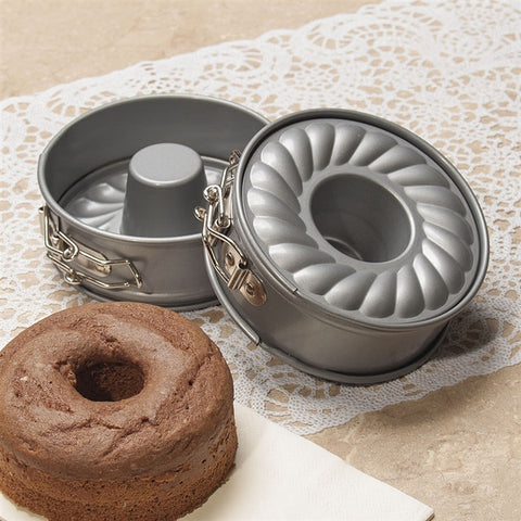 Cake For Two Mini Bundt Pans, Set of 2 (NB)