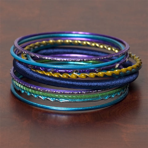 Party Bangles, Set of 10