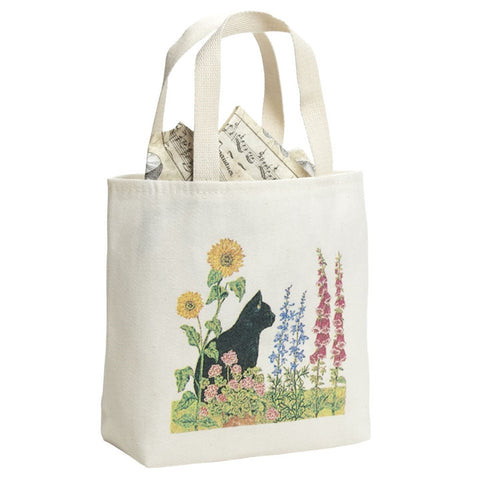 Wildflowers & Cat Trinkets Gift Bag