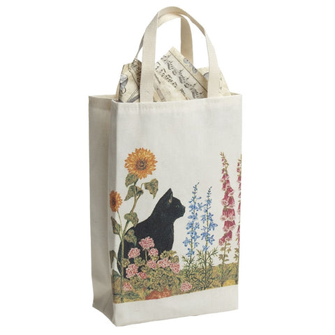 Wildflowers & Cat Gourmet Gift Bag (NB)
