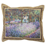 Monet's 'Garden at Giverny' Pillow