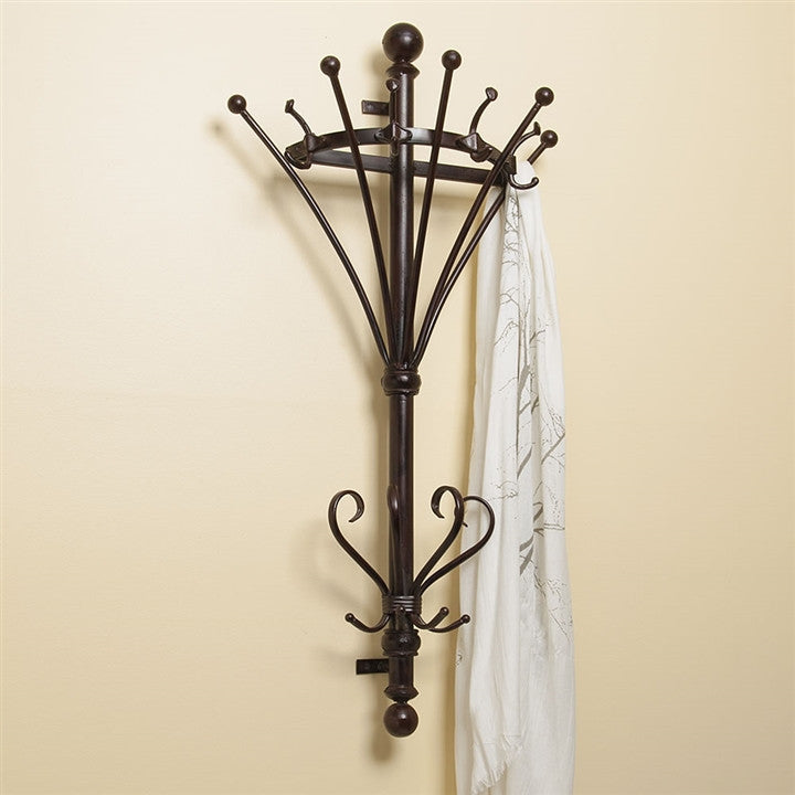 Victorian Wall Mounted Coat Rack