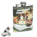 Start Early Hip Flask