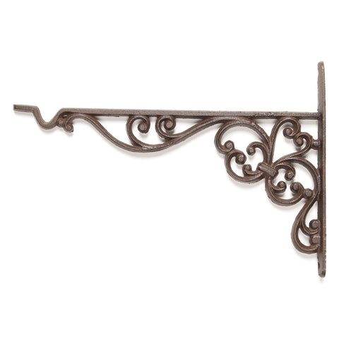 Scrolled Iron Plant Hanger Bracket