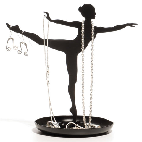 Dancer Silhouette Jewelry Holder