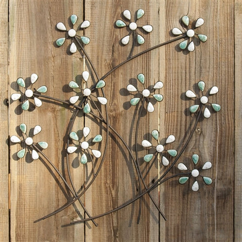 Abstract Daisies Wall Art