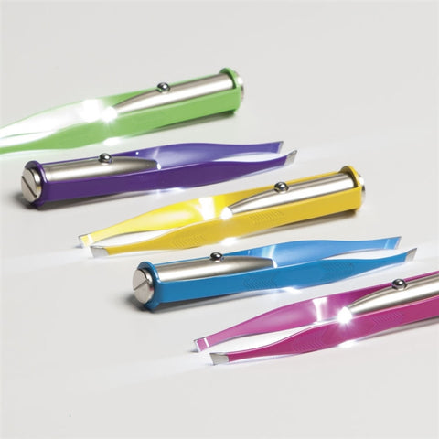 Colorful LED Light Tweezers