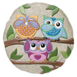 Mannerly Owls Stepping Stone
