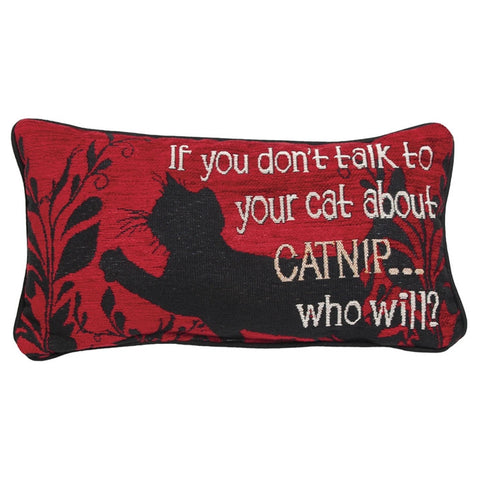 Talk About Catnip Pillow