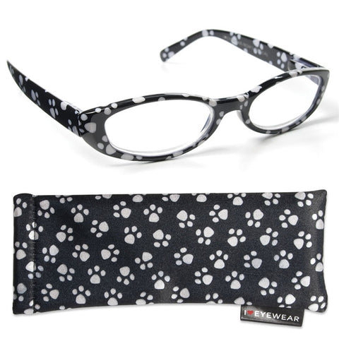 Paw Prints Reading Glasses