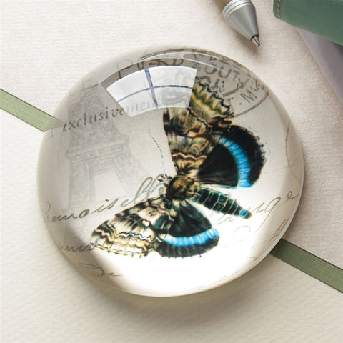 Butterfly Dome Paperweight