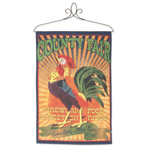 Kate Ward Thacker's County Fair Rooster Banner