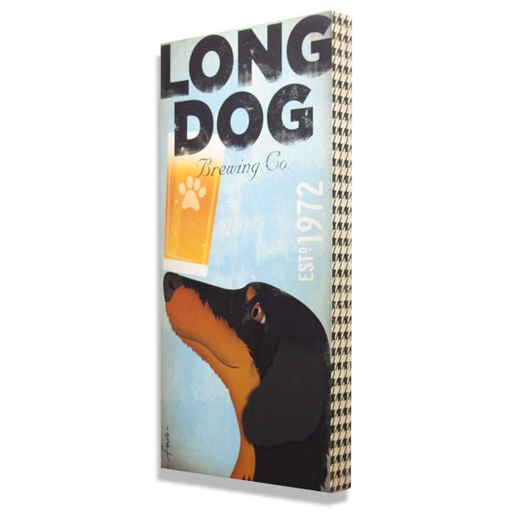 Long Dog Brewing Wall Art (NB)