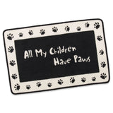 All My Children have Paws Indoor/Outdoor Mat (NB)