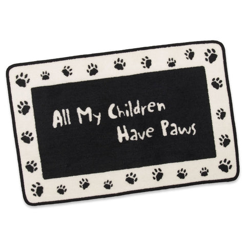 All My Children have Paws Indoor/Outdoor Mat