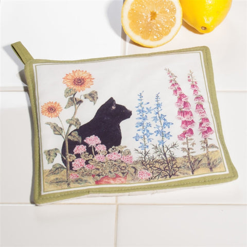 Wildflowers & Cat Pot Holder